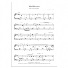 Wistful Prelude (No. 14 from 15 Preludes for piano)   DIGITAL -  Iain James Veitch